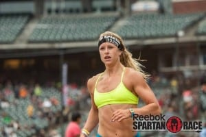 Cassidy Watton in a Spartan Race