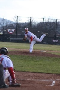 Josh Herzenberg pitching